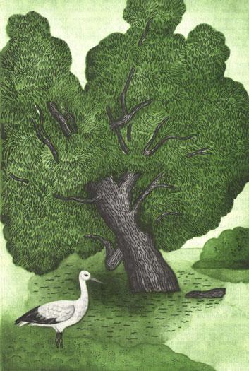 Ивушка зеленная, над рекой склоненная